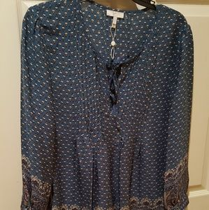 Joie tunic style blouse NWOT